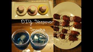 DIY Sleepover Snacks Thumbnail