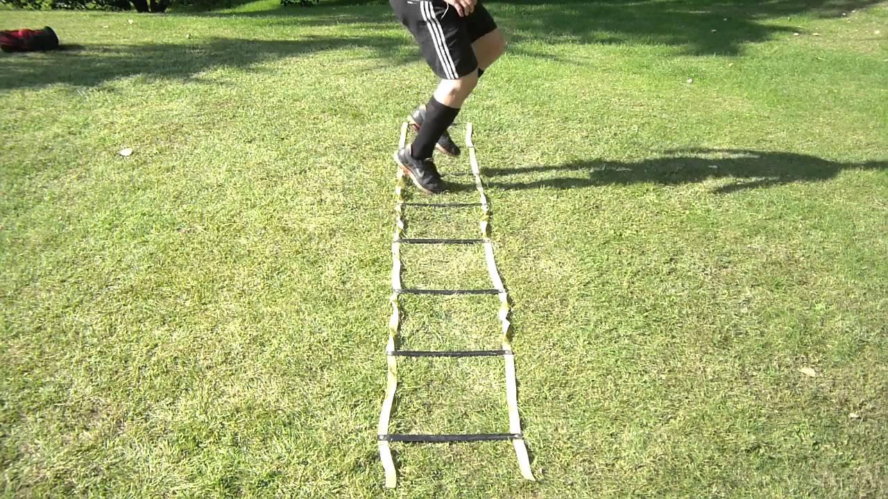Escalera de agilidad ejercicios youtube - Escaleras de trabajo ...