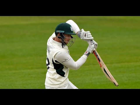 Clarke demonstrates potential with majestic ton, Worcestershire v Derbyshire