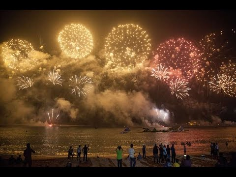 UAE 45th National Day Events, Fireworks in Dubai (02/12/2016)