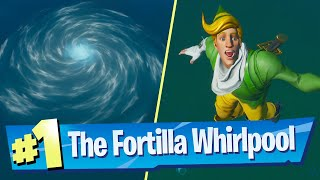 Use A Whirlpool At The Fortilla Location - Fortnite (Aquaman Challenge)