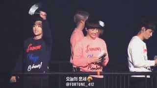 151010 EXO-Love Concert - Tender Love, 엑소도 엑소엘도 신나는 텐더러브 첫 무대♡ 오빠오빠!!!