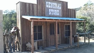 Old Western Town False Front   Old West General Store Facade (Pt.4) Start To Finish