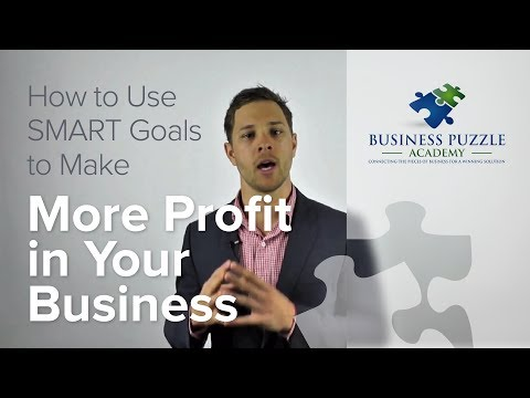 How to use SMART Goals to Make More Profit in Your Business