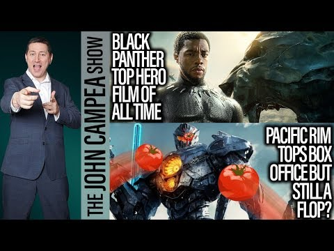 Black Panther Passes AVENGERS For #1 Box Office Hero Movie - The John Campea Show
