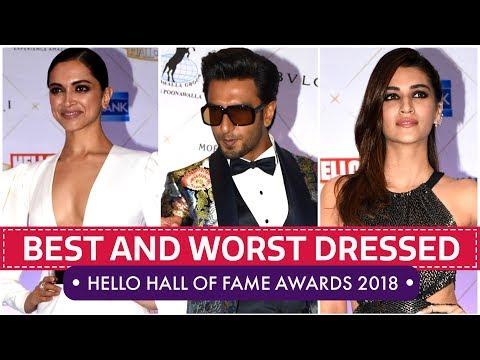 Deepika Padukone, Kriti Sanon, Mira Rajput: Hello Hall of Fame Awards 2018 | Pinkvilla | Bollywood thumbnail
