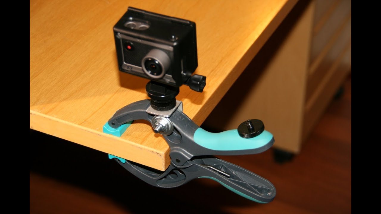 DIY Clamp Mount for Actionpro X7, GoPro, or any other ...