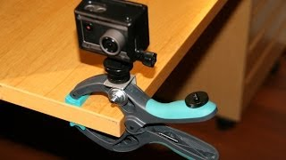 DIY Clamp Mount for Actionpro X7, GoPro, or any other action cameras