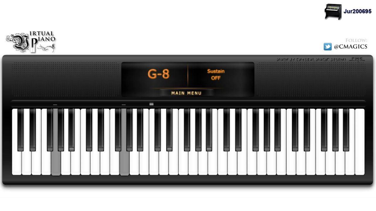 Virtual piano bruno mars when i was your man youtube virtual piano bruno mars when i was your man hexwebz Images