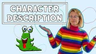 Character Description For Kids // Learning From Home