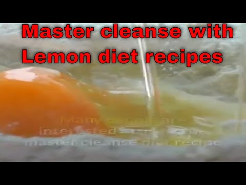 Mater cleansing with Lemon Diet Recipes Natural Remedies and Nutrition