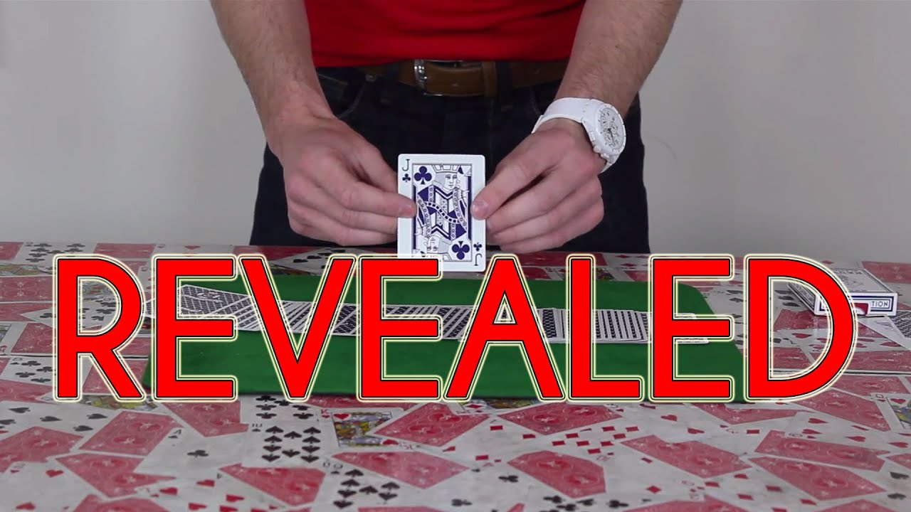 easy card trick tutorial revealed  youtube