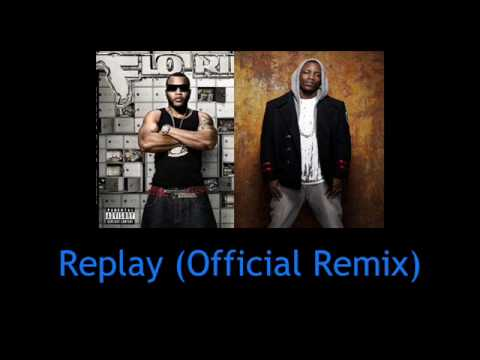 IYAZ Feat. Flo Rida - Replay (Official Remix) [HQ]  *NEW*