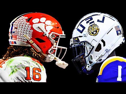 Clemson vs LSU || 2020 National Championship Hype ᴴᴰ