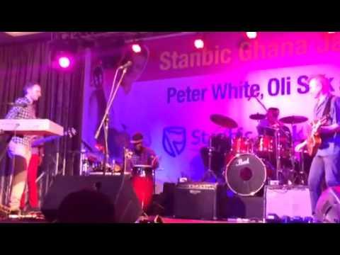 Peter White & Oli Silk at The Stanbic Ghana Jazz Festival 2014