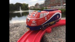 Trem de Brinquedo Tomy Plarail Chuggington Jackman at Schwale, Neumünster, Deutschland 01868 pt