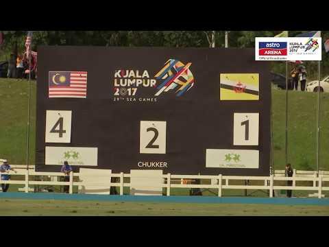 MAS 12-4 BRU   Ekuestrian Polo   KL 2017   Astro Arena