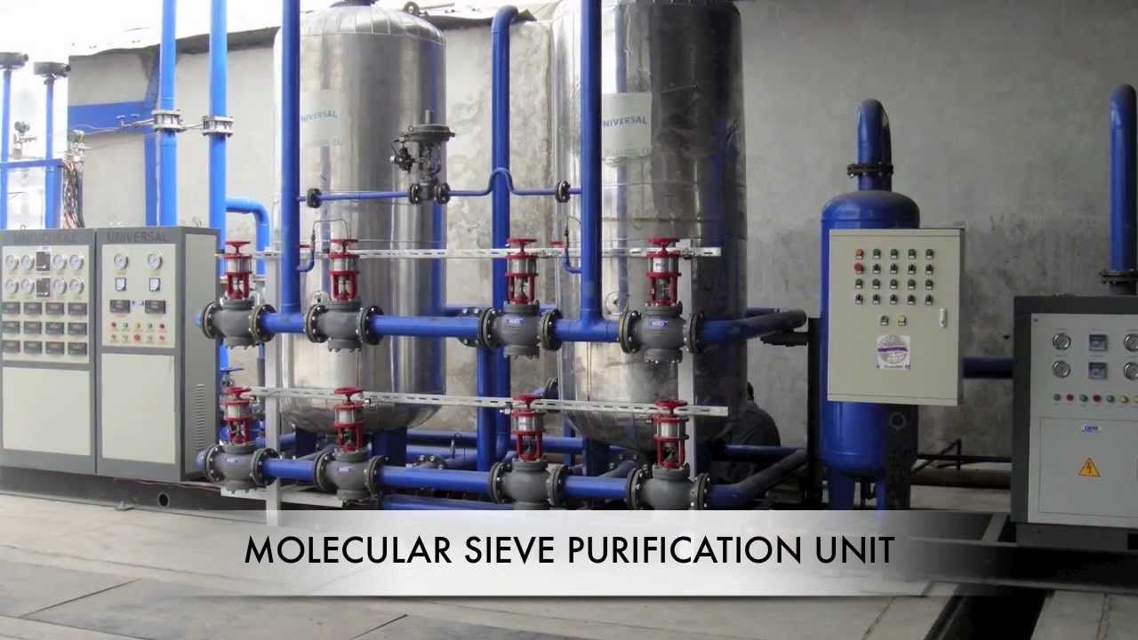 Cryogenic Oxygen Plant  Air Separation plant UNIVERSAL BOSCHI  YouTube