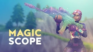MAGIC SCOPE - BEST GUN IN GAME? (Fortnite Battle Royale)