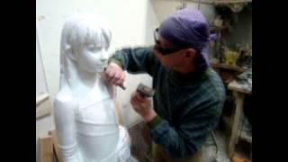 видео Изготовление бюста для памятника из бронзы, гранита и мрамора; заказать в Киеве