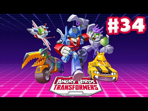 Angry Birds Transformers - Gameplay Walkthrough Part 34 - Silver as Windblade Rescued! (iOS)