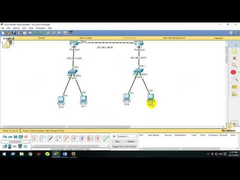 Configuring RIP (Routing Information Protocol) Packet Tracer | Bangla Tutorial