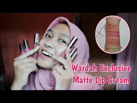 review-&-swatches-wardah-exclusive-matte-lip-cream