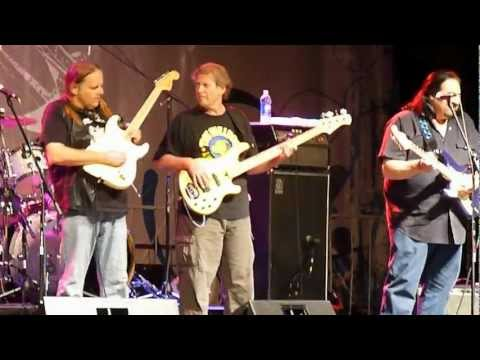 Walter Trout and Coco Montoya in Canton Ohio 8 June 2012 Part 1 of 2.MOV