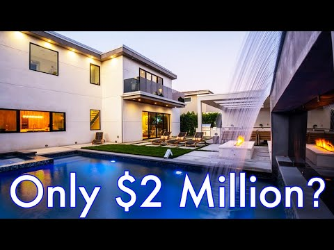 Touring A Sherman Oaks Modern Mansion