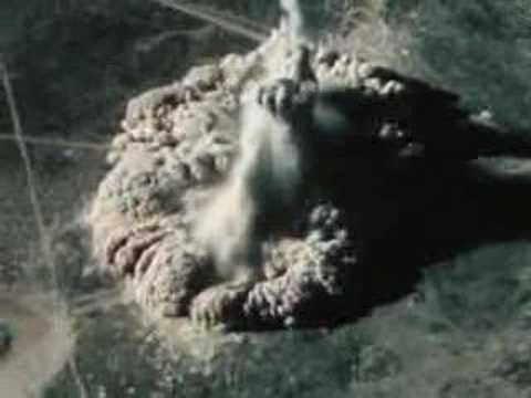 Big Underground Explosion 5 - U.S. Atomic Energy Commission