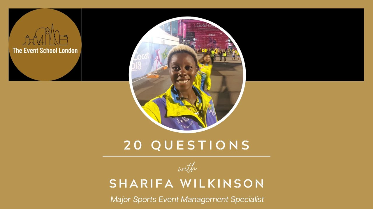 20 Questions with Sharifa Wilkinson, Major Sports Event Management Specialist.