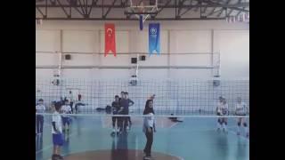 Çerkeş Gençlik  Spor Voleybol Smaç Blok Antrenman