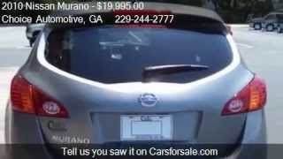 2010 Nissan Murano S for sale in Valdosta, GA 31601 at the C
