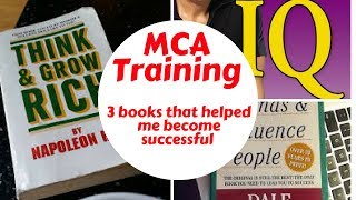 MCA Training - 3 books that helped me become successful