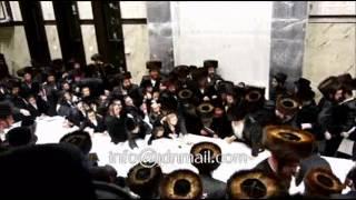 Slonim Rebbe Making Havdalah In Boro Park - Shevat 5774