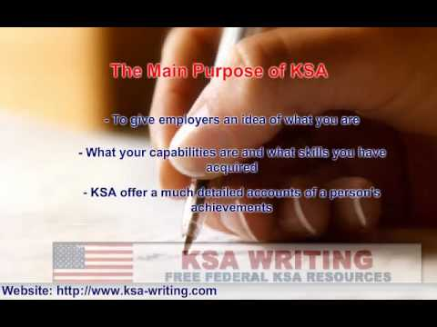 KSA Writing 101