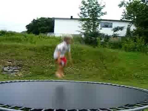 pro trampoline felix roberge 9 ans