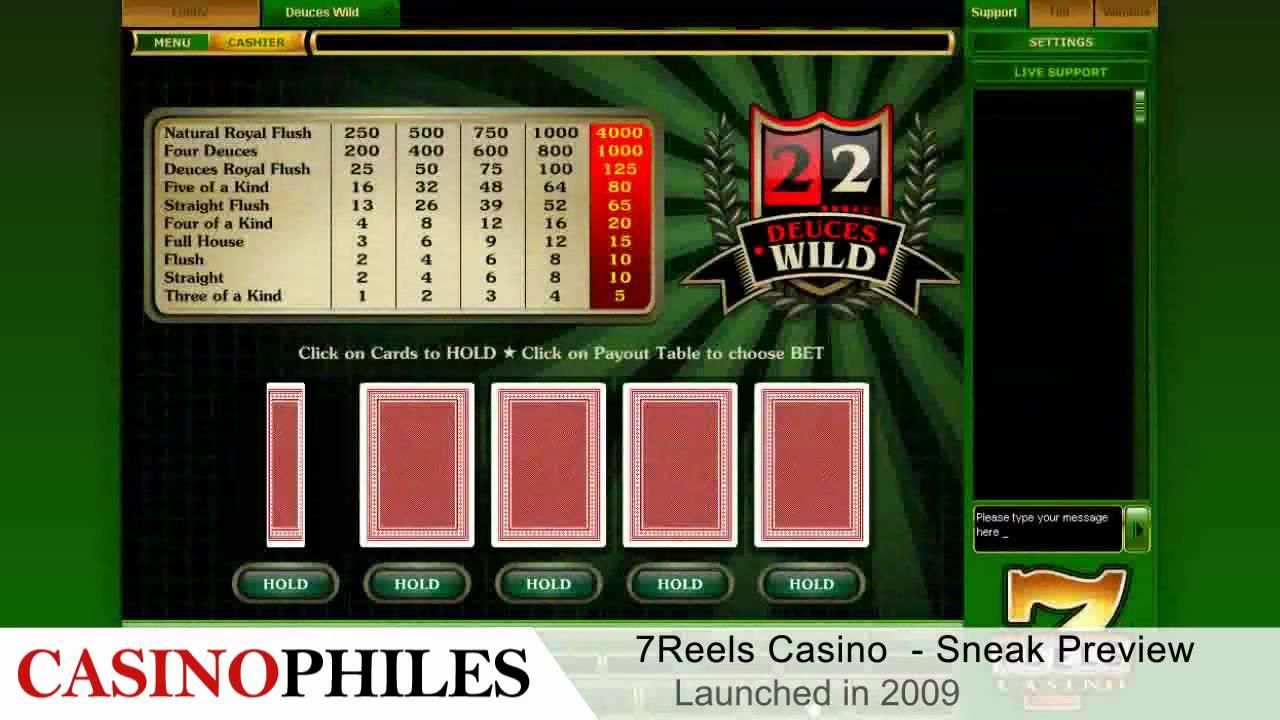 7 Reels Casino Login