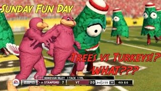 Christmas Trees vs Thanksgiving Turkeys!? Sunday Fun Day