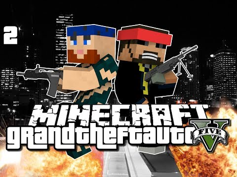 Minecraft Grand Theft Auto Mod 2 - WE NEED A HOUSE (GTA 5)