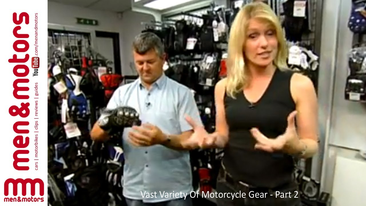 Vast Variety Of Motorcycle Gear Part 2 Youtube