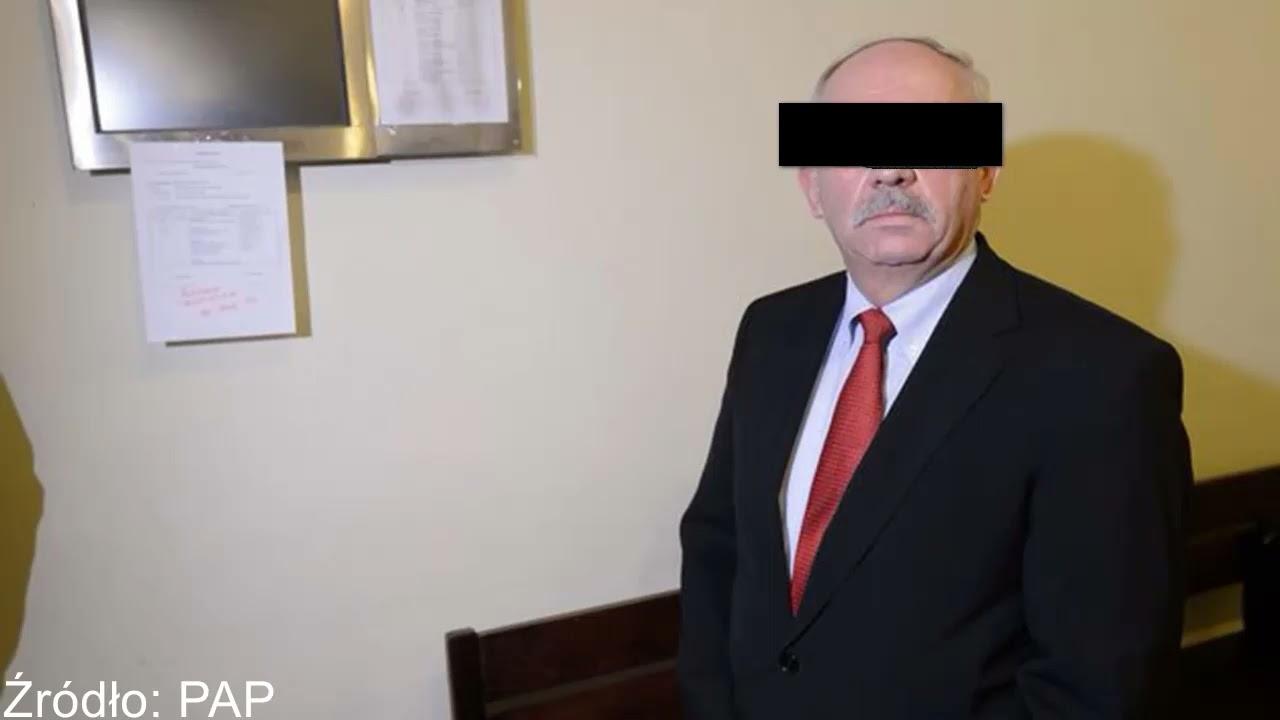 Senator skazany
