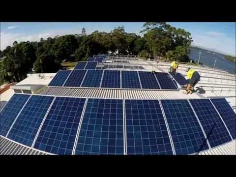 SAE Group Commercial Solar Install Solo Waste 143kW Solar Panels
