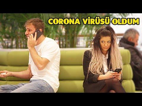 CORONA VİRÜSÜ OLDUM - ABSÜRT TELEFON KONUŞMASI 6