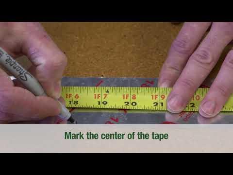 Moisture Barrier Tape Installation