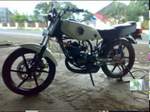 sepeda motor rx king modifikasi  paling bagus