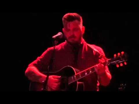 Dustin Kensrue  Jesus Christ Brand New  acoustic  in Santa Ana 121615
