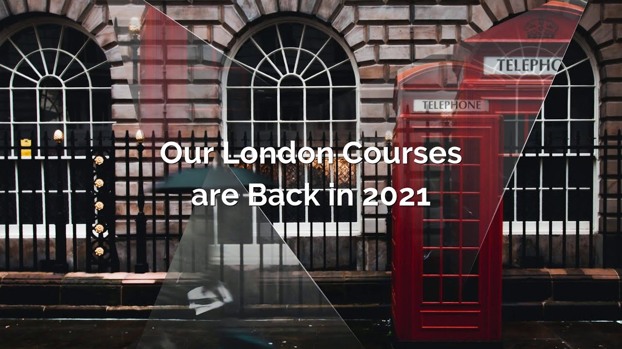 London Courses are Back in 2021