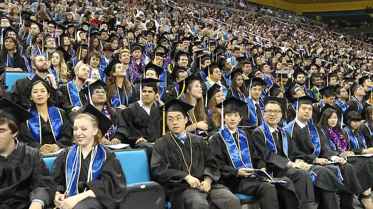 college of letters and science ucla 2015 ucla college commencement ceremony ii 7pm recorded 20899