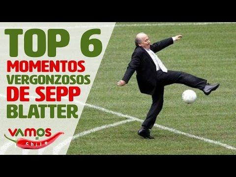 "Top 6 momentos más vergonzosos de Joseph ""Sepp"" Blatter en Vamos al Chile"